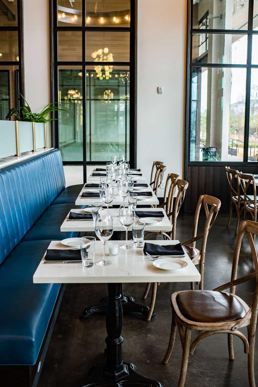 Atlanta restaurant interior beltline
