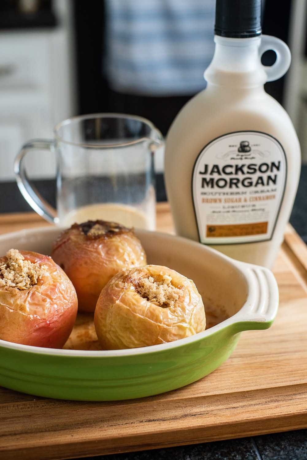 Jackson Morgan baked apples
