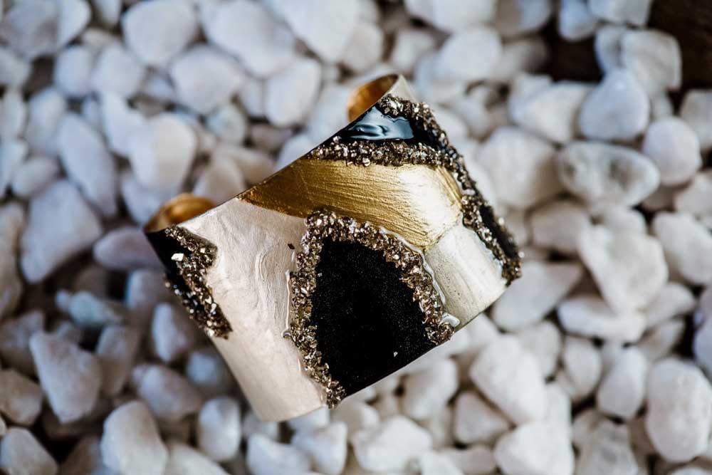 MAE Wearable Art Cuff Bracelet