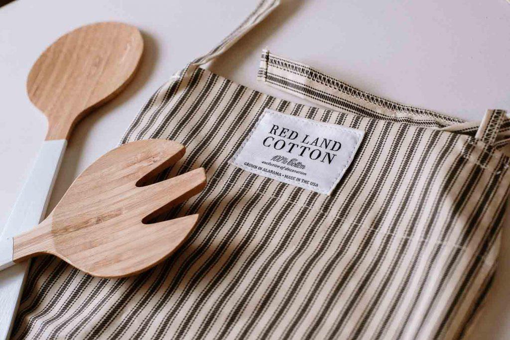Redland Cotton apron