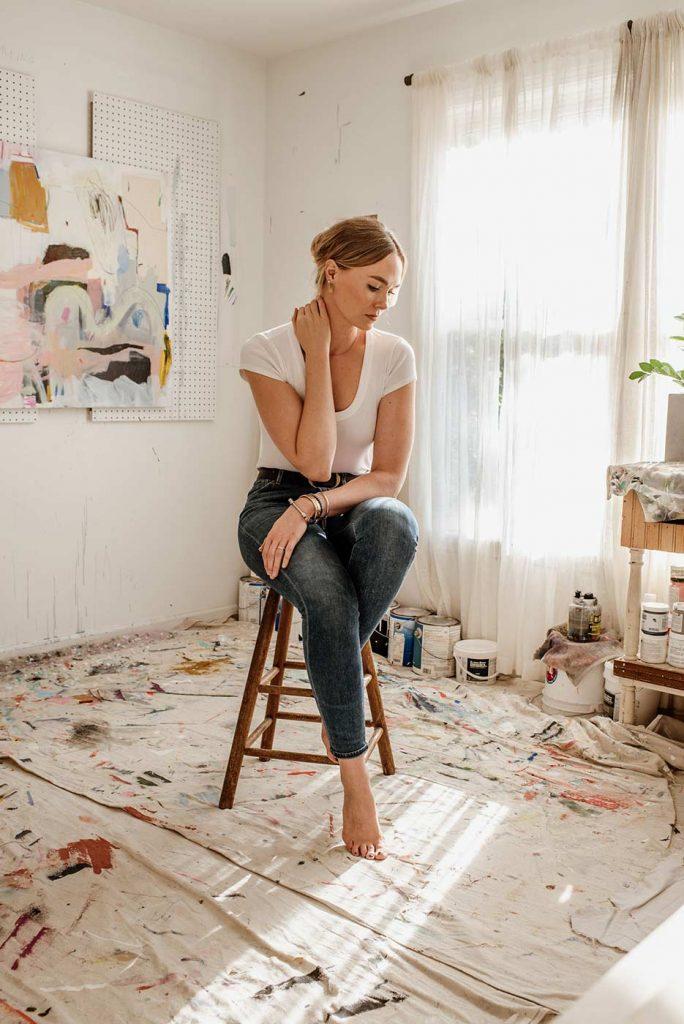 Allison James painter Atlanta