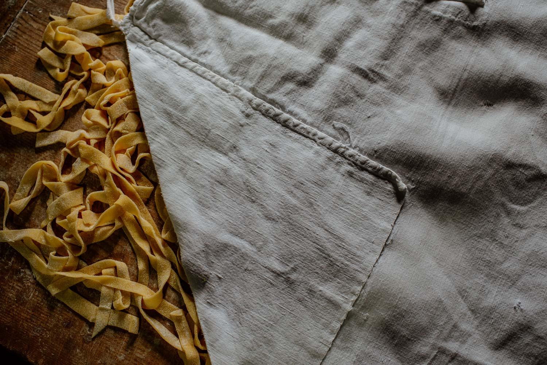 Pasta making in Tuscany